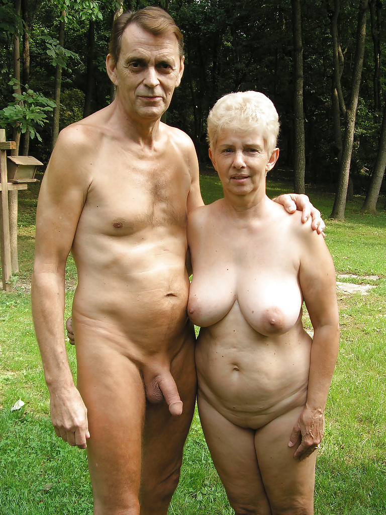 Couples nude old Couple
